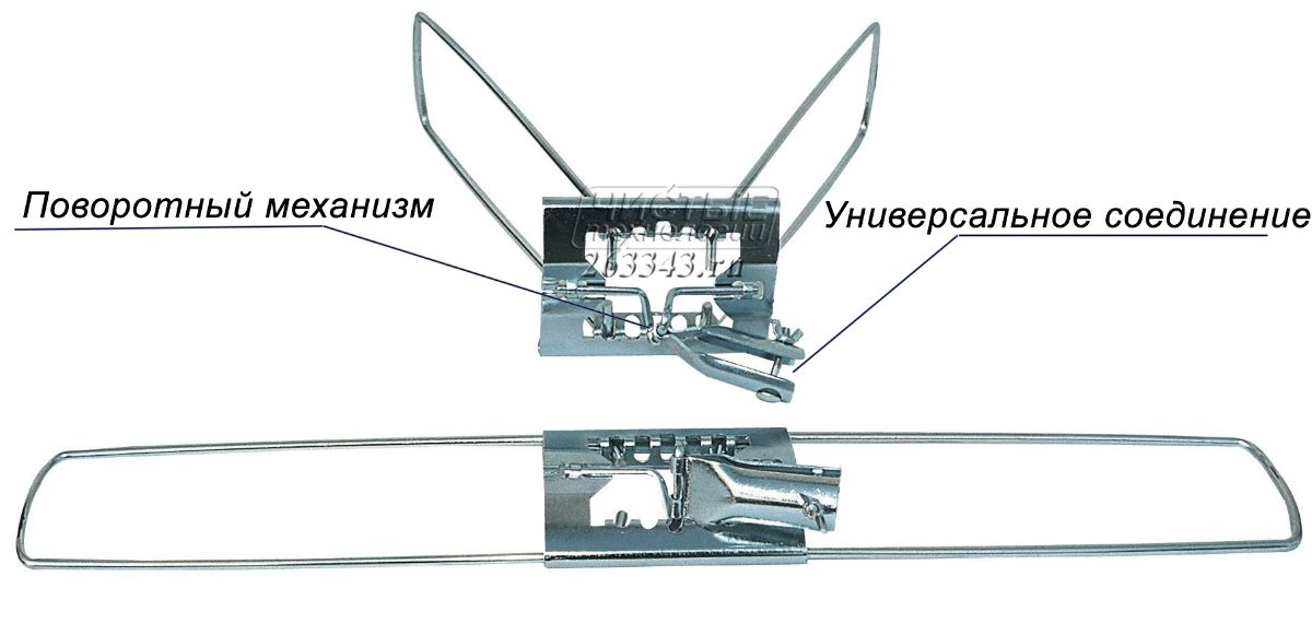 Флаундер металлический TTS
