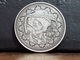 Calaveras Antique Silver Coin