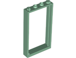Door, Frame 1 x 4 x 6 with Two Holes on Top and Bottom, Sand Green (60596 / 6342692)
