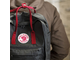 Рюкзак Fjallraven Kanken Forest Green/Ox Red (660/326)