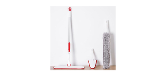 Швабра Xiaomi Appropriate Cleaning Household Cleaning Small Kit TZ-01 Red Gray Cloth