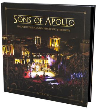 Sons Of Apollo - Live with the Plovdiv Psychotic Symphony Artbook