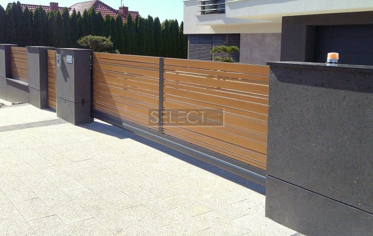 заборы и ворота select - Оцинкованная сталь - порошковая покраска - днепр