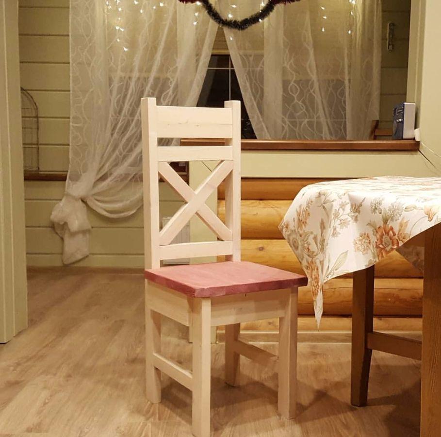 Мебель из дерева своими руками стул из дерева своими руками  Стул с выдвижным ящичком от Екатерины Чемодуровой
