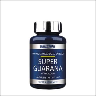 Гуарана Scitec Nutrition Super guarana 100 tab