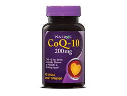 Natrol CoQ10  200mg  45 softgels