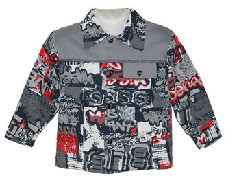 Рубашка (Артикул 4109-033) цвет серый