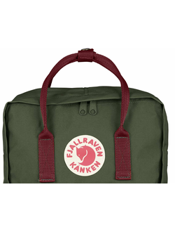 FJALLRAVEN KANKEN Forest Green/Ox Red