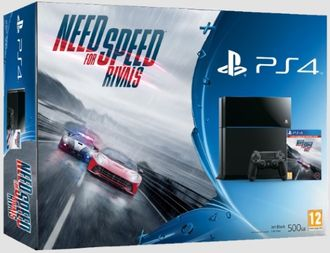 Sony Playstation 4 + NFS Rivals
