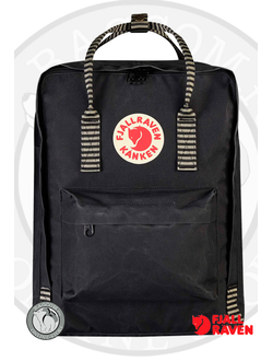 Fjallraven Kanken Black/Striped