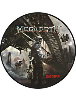 MEGADETH Dystopia PICTURE LP