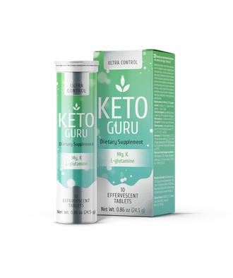 Keto Guru Effervescent tablets for Keto Diet