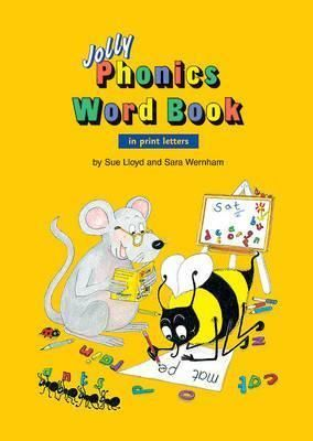 Jolly Phonics Word Book  in Print Letters (AE)