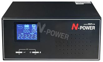 ИБП N-Power Home-Vision 600W