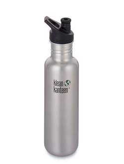Бутылка Klean Kanteen CLASSIC SPORT 800 мл (27oz) Brushed Stainless