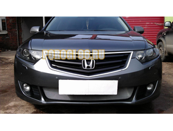 Защита радиатора Honda Accord VIII 2008-2011 chrome