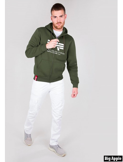 Толстовка Basic ZIP Hoody Alpha Industries Art.992