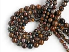 Бусина Питерсит, шар 6 мм (1 шт) №14622