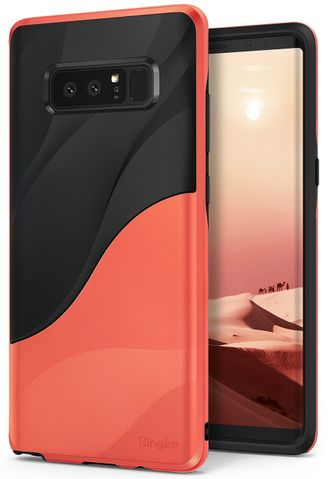 Чехол для Samsung Galaxy Note 8, Ringke серия Wave Case (цвет Красный Radical Orange)