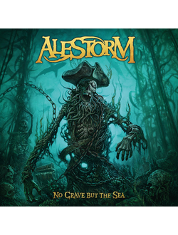 ALESTORM - No Grave But The Sea LP gold