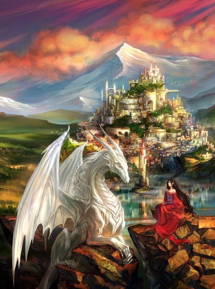 драконы сказочные волшебные картинки гелей