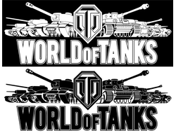 Наклейка WORLD OF TANKS 2