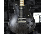 2009 Gibson Les Paul Mahogany Top Faded Studio Black