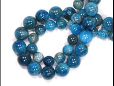 Бусина Апатит синий, шар 8 мм (1 шт) №14792