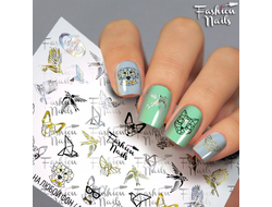Слайдер дизайн Fashion Nails G49