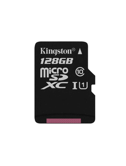 Карта памяти Kingston 128GB Micro SDHC Class 10