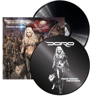 DORO Forever warrior 2-LP
