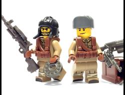 Лего магазин оружия