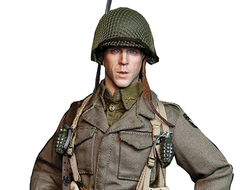 "Ричард Уинтерс (Братья по оружию, Band of Brothers) - Коллекционная ФИГУРКА 1/6 scale - US Paratrooper PlatoonLeader - ""Easy"" Company regular version (FP-002A) - Facepoolfigure"