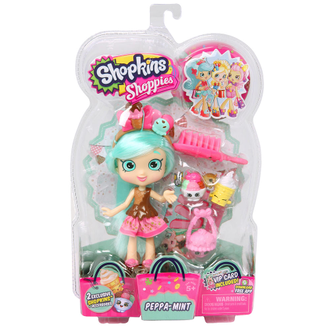 Шопкинс - Shopkins Shoppies Peppa Mint Мята