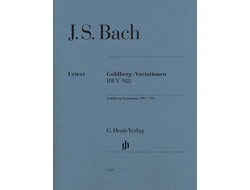 Bach Goldberg Variations BWV 988 Edition Without Fingering