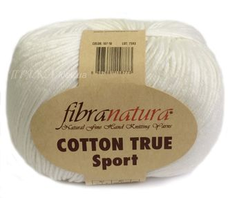 Fibranatura Cotton True Sport 107-18 молочный