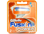 Кассета Gillete Fusion Power по 2 шт*****