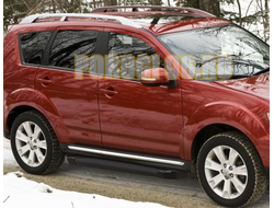 Пороги на Mitsubishi Outlander XL (2007-2010-2012) Black Start