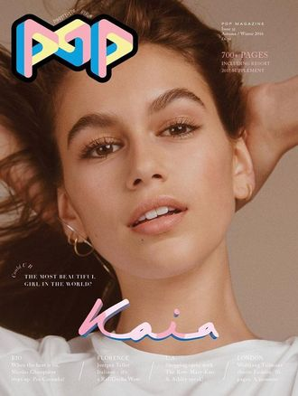 POP Magazine № 35 Autumn-Winter 2016 Kaia Gerber Cover ИНОСТРАННЫЕ ЖУРНАЛЫ PHOTO FASHION