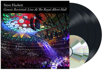 Steve Hackett - Genesis Revisited: Live at The Royal Albert Hall 3-LP+2-CD