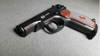 Скорость пули пистолета KWC MAKAROV BLOWBACK https://namushke.com.ua/products/kwc-makarov-blowback