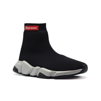 Balenciaga Speed Trainer Supreme Черные (36-45)