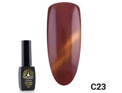 Гель-лак Global Fashion cat eye C23