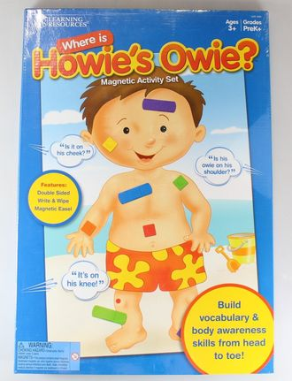 Where is Howie's Owie?