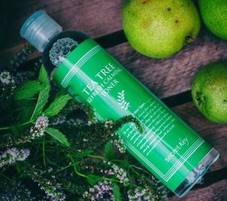 Tea Tree Refresh Calming Toner (ярко-зеленый)