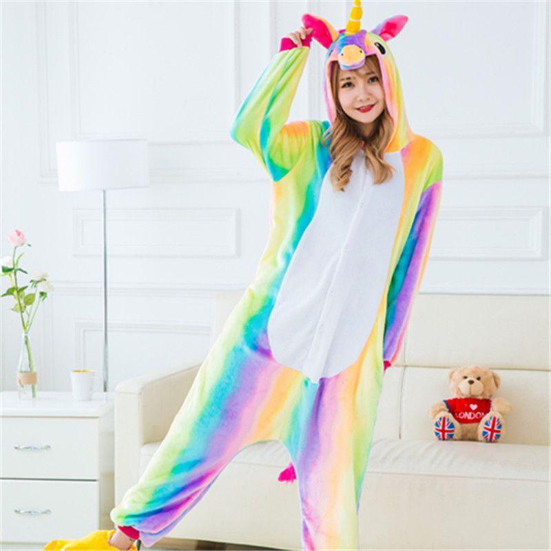 Пижамы - Кигуруми Радужный единорог 4c12d90a9689f