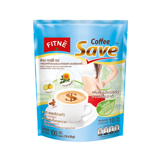 Травяной кофе FITNE Coffee Save with Safflower Extract and Garcinia Extract 100 гр (10 саше)