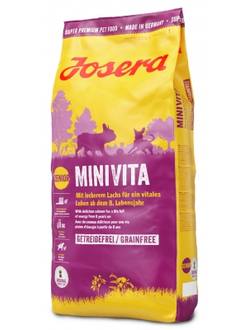 Josera MiniVita Adult Mini/Sensitive 25/14  / Джосера (ЙОЗЕРА) МиниВита Сухой корм для собак мелких пород, склонных к избыточному весу