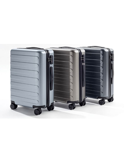 "Чемодан Xiaomi Trolley 90 Points seven-bar luggage case 24"" черный"