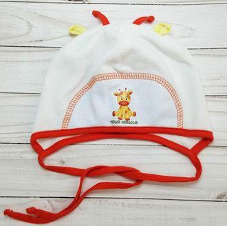 Шапочка для новорожденного  (Артикул 509)
